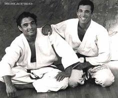Rickson and Royce Gracie