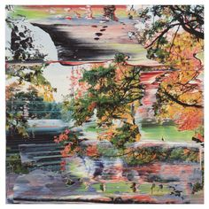 Gerhard Richter (German, b. 1932), 3.12.1999 (Firenze) [3.12.1999 (Florence)], 1999. Oil on colour photograph, 12 x 12 cm.