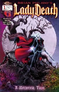 Lady Death - A Medieval Tale #1 Brian Pulido Ivan Reis ---> shipping is $0.01 !!!