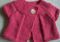 Merino silk and cachemire cardigan for baby by cachemireetc Baby Cardigan, Baby Pullover, Red Cardigan, Knitting For Kids, Baby Knitting Patterns, Baby Patterns, Free Knitting, Crochet Baby, Knit Crochet