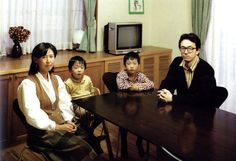 1990s Japanese family. By Thomas Struth