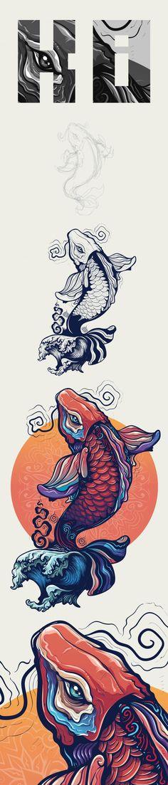 K O i Illustration