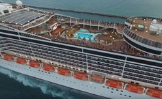Exclusively filmed and put together for Cruise Hive readers this stunning MSC cruise ship departs PortMiami. #cruise #msccruises #travel #miami #florida #caribbean