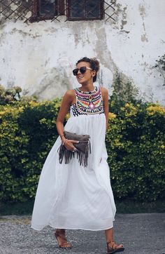 Processed with VSCO with preset - Abiti estivi Casual Summer Outfits, Boho Outfits, Spring Outfits, Cute Outfits, Fashion Outfits, Summer Dresses, Summer Maxi, Fashion Ideas, Cute Fashion