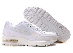 Sverige Nike Air Max Ltd 3 Kvinna Man Skor White Cool
