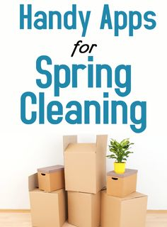 Don't let spring cleaning be any more work than it needs to be! These apps will help make it a breeze!
