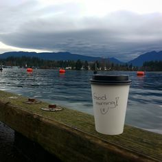 Reflection About Life, Travel Mug, Coffee Shop, Vancouver, Good Morning, Thankful, Awesome, Journaling, Nature