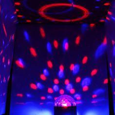 RGB LED CRYSTAL MAGIC Ball 48 SUNFLOWER Stage DJ Club Party Light