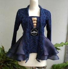 Vintage Wedding Outfit Bridesmaids 53 Ideas For 2019 Kebaya Kutu Baru Modern, Model Kebaya Brokat Modern, Kebaya Modern Hijab, Dress Brokat Modern, Kebaya Hijab, Kebaya Muslim, Model Kebaya Modern Muslim, Kebaya Peplum, Kebaya Lace