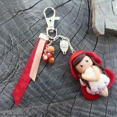 """Bijou de sac """"le petit chaperon rouge"""""""