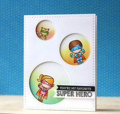Mama Elephant-Sew Fancy dies & Tiny Heroes stamps [video]