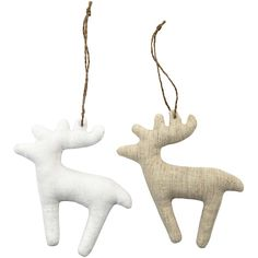 Reindeer, Christmas, soft toy | Xmas decoration . Weihnachtsdekoration . décoration noël | Design: Vivi Gade Design @ cchobby |