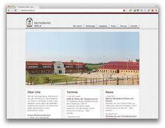 www.reiterbund-wels.at Concept, Development & Design by INTERNETKULTUR Desktop Screenshot, This Is Us, Concept, Design, Wels, Dressage, Equestrian, Design Comics