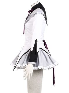 Puella Magi Madoka Magica Akemi Homura Costume