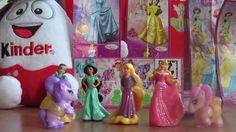 Princezné Disney Rapunzel Jasmine Aurora Snehulienka Kinder Vajíčka