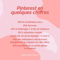 Utiliser Pinterest pour booster votre stratégie digitale - Mycrocosme Small Business Resources, Pinterest Account, Social Media