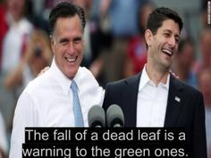The failure of Mitt Romney is a warning to the Republican party: The fall of a dead leaf is a warning to the green ones