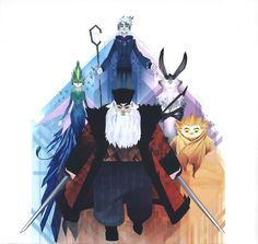 Living Lines Library: Rise of the Guardians (2012) - Character Design