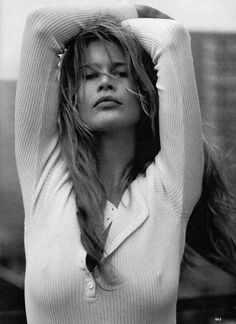 Claudia Schiffer | Photography by Steven Meisel | For Vogue Magazine US | April 1993