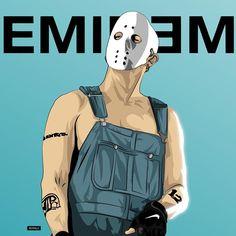 EMINEM! | #Eminem #aftermath #art #illustration