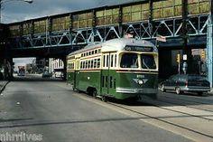 """Vintage """"56"""" Trolley"""