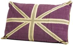 Cushion Union Jack Purple 70 x 100 cm  by #KAREDesign