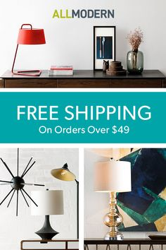Sign up on AllModern in a flash for fast and free shipping on lighting, furniture, and more.