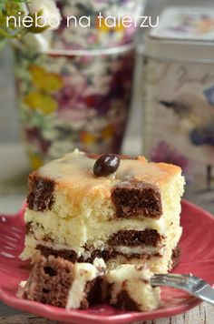 Polish Recipes, Polish Food, Food Cakes, Healthy Desserts, Tiramisu, Cake Recipes, Food And Drink, Baking, Ethnic Recipes