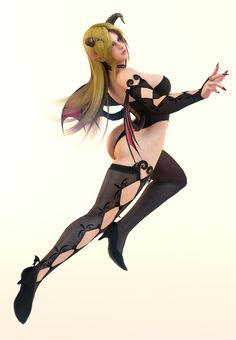 Helena 3DS Render 12 by x2gon on DeviantArt