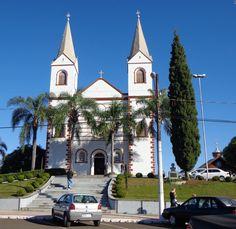 Igreja Matriz N. Sra. do Perpétuo Socorro - Treze Tílias (SC) - 2013