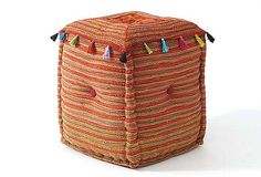 Great pouf for a kid's room