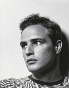Marlon Brando, 1950 (Photo by PHILIPPE HALSMAN)