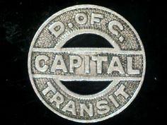 Capital Transit Fare Token.