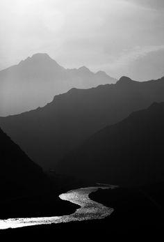 Araz River ali shokri // black and white photography, landscape, river, mountain, Creation, beautiful, breathtaking, serenity, b&w, photo, pic, image, snapshot, beauty, sunshine, sun, layers, wonder