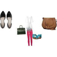 Liana by leanne-mickels-bardzik on Polyvore featuring polyvore fashion style Miguelina WearAll Minnetonka Hermès Chloé BERRICLE