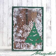 Vánoční+přání+stromeček+Přáníčko+z+papíru+velikost+a6.