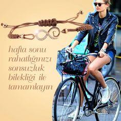 Zen Pırlanta; Zen'le Hafta Sonu Stili! #Infinity #endless #sonsuzluk #bileklik #bracelet #pirlanta #diamond #love #weekend #weekendstyle #style #saturday #sunday #fashion #style #bike #sporty #chic