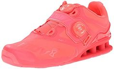 Inov8 Womens FastLift 370 Fitness Shoes BOA Pink 105 and Workout Visor Bundle -- See this great product from Amazon.com