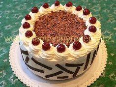 Schwarzwaldský višňový dort – Maminčiny recepty Tiramisu, Red Velvet, Baking, Cheesecake, Ethnic Recipes, Cakes, Chocolates, Advent, Food