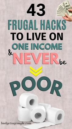 You've cut every expense but haven't made an impact on your savings. You can live frugally on one income. Best Money Saving Tips, Money Saving Challenge, Money Tips, Saving Money, Money Hacks, Finance Jobs, Money Plan, Managing Your Money, Budgeting Finances