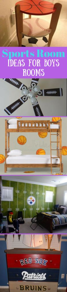Boys Room ideas for a Sports Fan