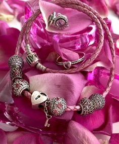 Crazy about pink - Pandora Bracelets, available at Daniel Jewelers, Brewster New York
