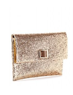 Anya Hindmarch clutch.