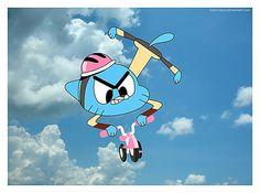 #The #Amazing #World #Of #Gumball #Fan #Art. Gumball Image, Amazing Gumball, World Of Gumball, Cartoon Sketches, Vintage Cartoon, Cool Cartoons, Darwin, Cartoon Wallpaper, Movies Showing