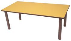 Mesa madera rectangular guarderia