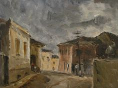 "Alfredo Volpi: ""Mogi das Cruzes"". Ano: 1932-1933 [br]"