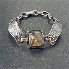 Bracelet with citrine - Strukova Elena - author decorations