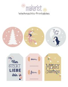Ann.Meer by Anna-Maria Dahms: FREEBIE: gratis Geschenkanhänger