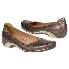 Naturalizer Yadira Shoe in nickel alloy leather.  $59.99 on sale.