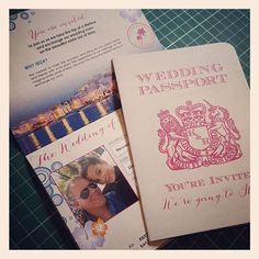 Definitely my favourite new design of #PassportInvitation created for a lovely couple planning an #ibizawedding